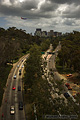 This daytime view of Highway 163 was taken from the Cabrillo bridge in Balboa Park. 'Nikon D70 Digital SLR' (Click for larger view)