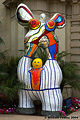 One of several colorful figures in Balboa Park. 'Nikon D70 Digital SLR' (Click for larger view)