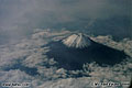 Mt. Fuji, Japan. Taken through the window of a JAL Airlines plane on a trip to Kitakyushu. 'Minolta Maxxum 5000 35mm SLR' (Click for larger view)