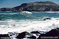 In this fourth photo in the Pacifica series you can see several surfers. One is standing in the center of the photo. You will probably need to click on this image to view the larger version in order to see the surfers. Pacifica, CA. 'Nikon F100 35mm SLR' (Click for larger view)