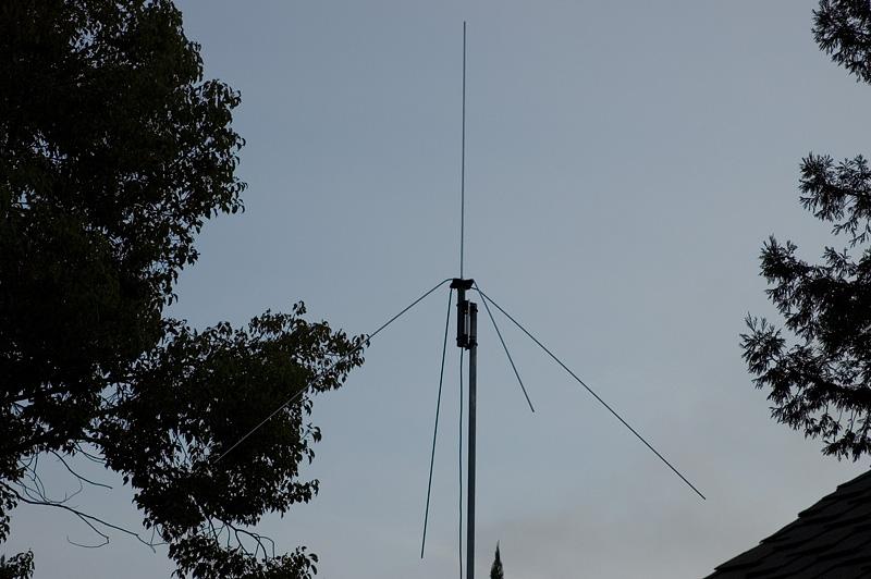 Mike Fedler N6TWW - 6 Meter 1/4 Wave Vertical Antenna